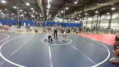 82 lbs Rr Rnd 3 - Bryce Siem, The Funky Singlets vs Oliver Lamiman, Elite Athletic Club