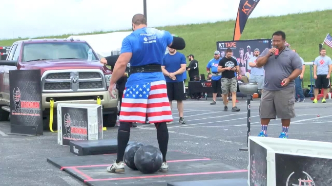 America's Strongest Man 2016: Circus Dumbbell
