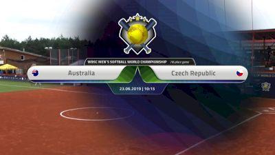 Australia vs Czech Republic   XVI Men's Softball World Championship   Svoboda Ballpark - Jun 23, 2019 at 3:01 AM CDT