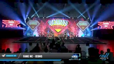 FAME NC - Icons [2021 L3 Junior - Small Day 2] 2021 Spirit Sports: Battle at the Beach