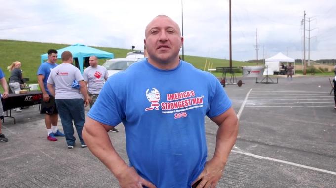 Sean Demarinis Is America's Strongest Man