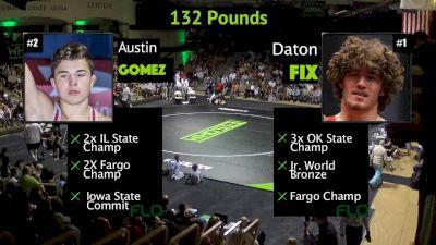 132 lbs Daton Fix, OK vs Austin Gomez, IL