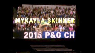 MyKayla Skinner Stars in Floor Solo - 2016 Kellogg's Tour of Gymnastics Champions