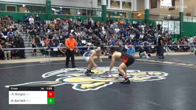 138 lbs Final - Ryan Burgos, Hilton vs Beau Bartlett, Wyoming Seminary