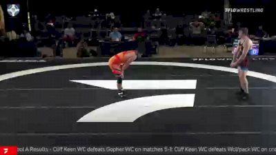 125 kg 5th Place - Amar Dhesi, Ohio RTC vs Anthony Nelson, Gopher WC