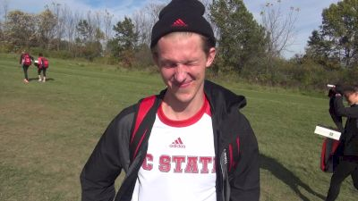 NC State's Sam Parsons the man who made it a race, just wants to have fun
