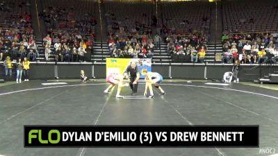 128 lbs Dylan D'Emilio, OH vs Drew Bennett, IA