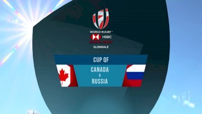 Canada 7s vs Russia 7s Cup Quarter Finals | 2018 HSBC Women's 7s Colorado
