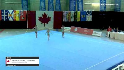 Attard / Attard / Guilermo - Group, Oakville Gymnastics Club - 2019 Canadian Gymnastics Championships - Acro