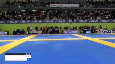ISAAC DOEDERLEIN vs LEONARDO FERNANDES SAGGIORO 2020 European Jiu-Jitsu IBJJF Championship