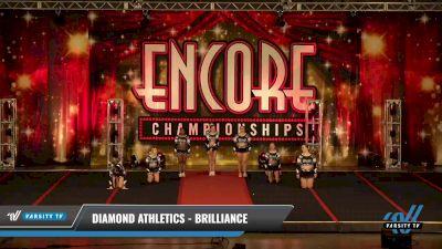 Diamond Athletics - Brilliance [2021 L4 Senior - D2 Day 2] 2021 Encore Championships: Pittsburgh Area DI & DII
