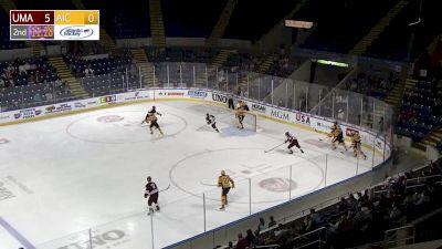Replay: Massachusetts vs AIC - 2021 UMass vs AIC | Oct 15 @ 7 PM