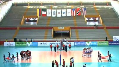 Full Replay - 2019 NORCECA Womens XVIII Pan-American Cup - Group A - Jul 8, 2019 at 3:35 PM CDT