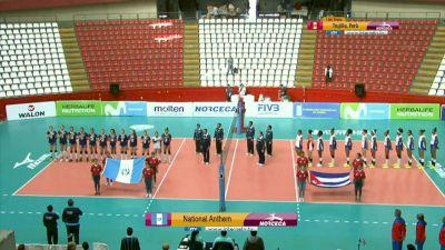 Full Replay - 2019 NORCECA Womens XVIII Pan-American Cup - Group B - Jul 8, 2019 at 3:35 PM CDT