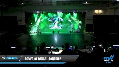 Power of Dance - Aquarius [2021 Junior - Hip Hop - Small Day 3] 2021 CSG Dance Nationals