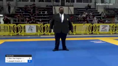 Jeremy Glen Harrington vs Thomas Joseph Cronin Jr 2021 Pan IBJJF Jiu-Jitsu No-Gi Championship
