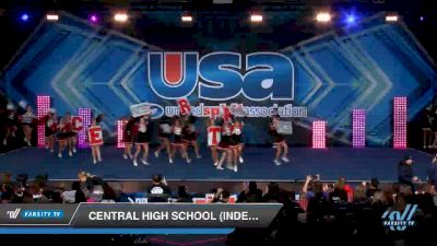 Central High School (Independence, OR) [2019 Varsity Show Cheer Non-Tumbling Novice Day 1] 2019 USA Spirit Nationals