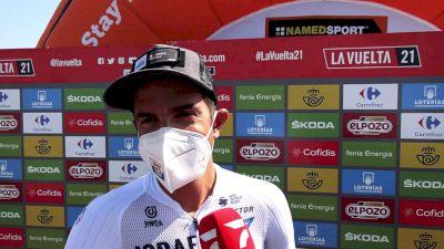 Vuelta a España: James Piccoli Working For A Sprint