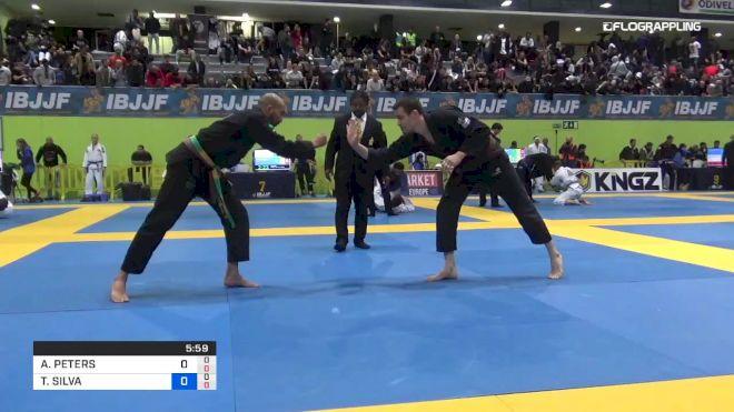 ANDY PETERS vs THIAGO SILVA 2019 European Jiu-Jitsu IBJJF Championship