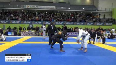 PATRICK GAUDIO vs FELIPE FIGUEIREDO MAURICIO 2020 European Jiu-Jitsu IBJJF Championship