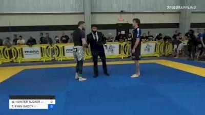 WILLIAM HUNTER TUCKER vs TRAVIS RYAN GADDY 2021 Pan IBJJF Jiu-Jitsu No-Gi Championship
