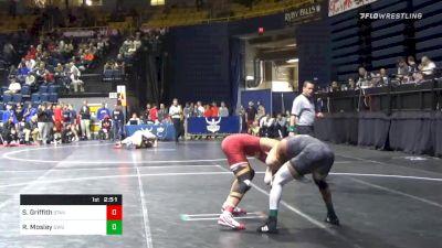165 lbs Prelims - Shane Griffith, Stanford vs Rj Mosley, Gardner Webb