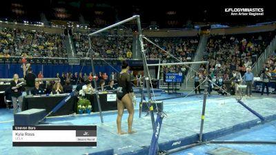 Kyla Ross - Bars, UCLA - 2019 NCAA Gymnastics Ann Arbor Regional Championship