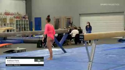 Addison Fatta - Beam, Prestige Gymnastics - 2021 American Classic and Hopes Classic