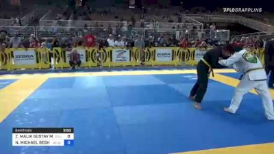 ZION MALIK GUSTAV MAILANDT vs NOAH MICHAEL BESHARA 2021 Pan Kids Jiu-Jitsu IBJJF Championship