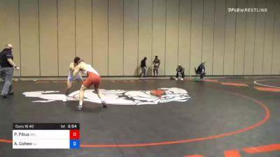 65 kg Consolation - Parker Filius, Boilermaker RTC vs Andrew Cohen, Illinois Regional Training Center/Illini WC