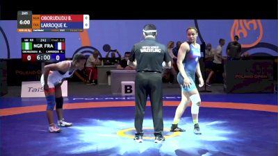 68 kg Gold - Blessing Oborududu, NGR vs Koumba Larroque, FRA