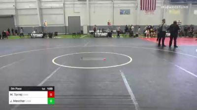 85 lbs 5th Place - Maximus Torrez, Daniel Cormier vs Jax Mescher, Legacy Wrestling Academy