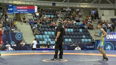 48 kg 1/8 Final - Kuttubek Rysmatov, Kyrgyzstan vs Yussuf Ashrapov, Kazakhstan