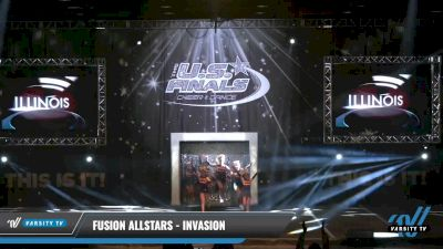 Fusion Allstars - Invasion [2021 L1 Youth - D2 - Small - A Day 1] 2021 The U.S. Finals: Louisville