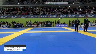 VITOR HENRIQUE SILVA OLIVEIRA vs JONNATAS GRACIE ARAUJO DA SILVA 2020 European Jiu-Jitsu IBJJF Championship