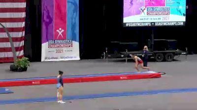 Alex Balinbin - Double Mini Trampoline, Elmwood - 2021 USA Gymnastics Championships
