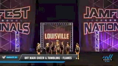 Off Main Cheer & Tumbling - Flames [2021 L2 Mini - D2 Day 1] 2021 JAMfest: Louisville Championship