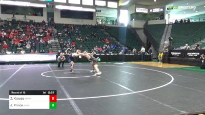 149 lbs Round Of 16 - Zach Krause, Brown vs Jared Prince, Navy