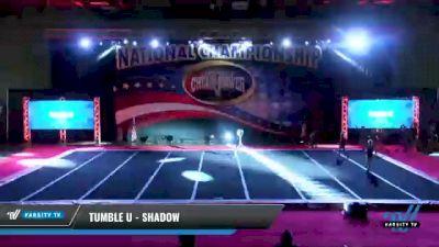 Tumble U - Shadow [2021 L2 Youth - D2 Day 2] 2021 ACP: Midwest World Bid National Championship