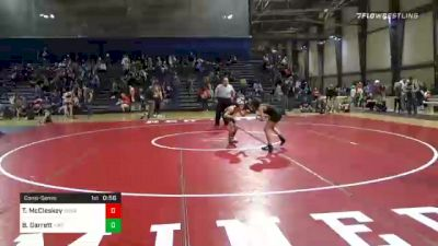 70 lbs Consolation - Tyler McCleskey, Social Circle USA Takedown vs Bryce Garrett, Hornets Wrestling Club