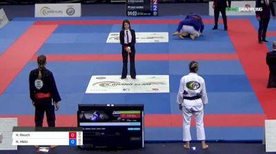 Hannah Rauch vs Nadia Melo 2018 Abu Dhabi Grand Slam London