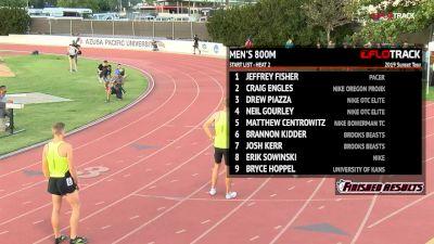 Men's 800m, Heat 2 - Bryce Hoppel's Win Streak Lives! 1:44 FTW!