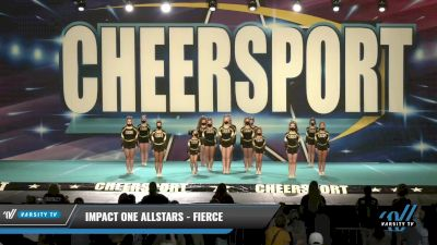 IMPACT ONE Allstars - FIERCE [2021 L4 Junior Day 1] 2021 CHEERSPORT: Charlotte Grand Championship
