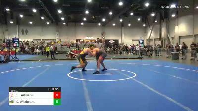 197 lbs Prelims - Jay Aiello, Virginia vs Cole Witzig, North Dakota State