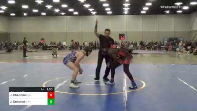 157 lbs Round Of 16 - Jordan Chapman, Cja vs Jack Seacrist, Alpha Wrestling