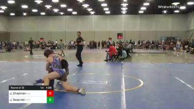 157 lbs Prelims - Jordan Chapman, Cja vs Jack Seacrist, Alpha Wrestling