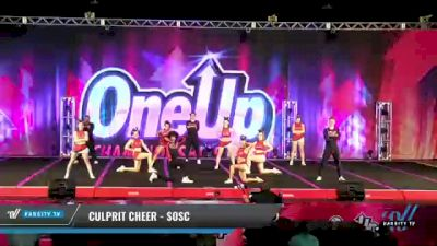 Culprit Cheer - SOSC [2021 L6 Senior Coed Open - Small Day 2] 2021 One Up National Championship