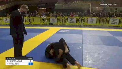 SEAN HUNTER ARIAS vs PETER TANGARO III 2021 Pan Kids Jiu-Jitsu IBJJF Championship