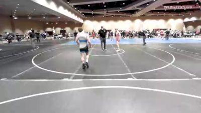 57 kg Quarterfinal - Benjamin Monn, Patriot Elite Wrestling Club vs Antonio Mininno, Pennsylvania RTC