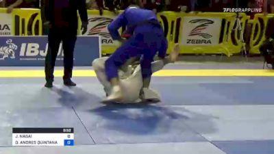 JACKSON NAGAI vs DANIEL ANDRES QUINTANA 2021 Pan Jiu-Jitsu IBJJF Championship